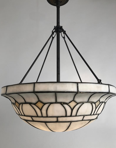 Slag Glass Panel Lamp Repairs Pricing Below